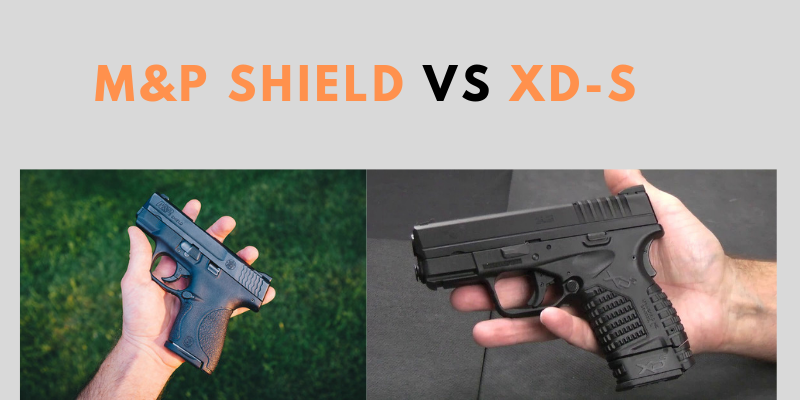 M&P Shield vs XD-S