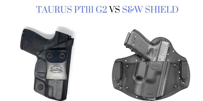Taurus PT111 G2 vs S&W Shield
