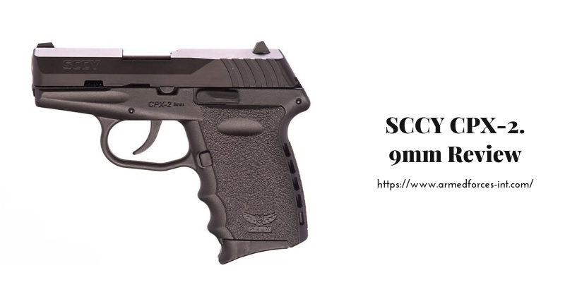 SCCY CPX-2. 9mm Review