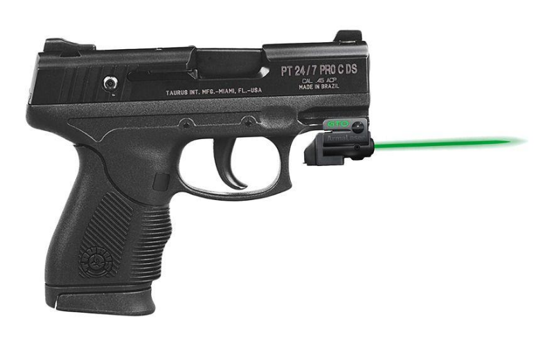 ArmaLaser GTO/FLX Finger Touch Green Laser Sight