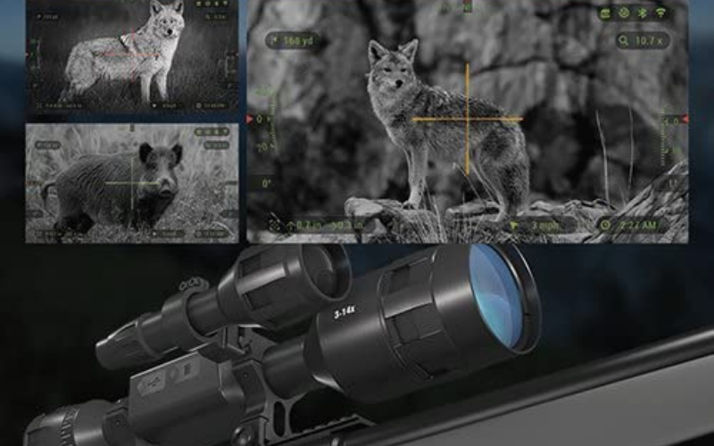 Best Night Vision Scope For AR-15 Reticle