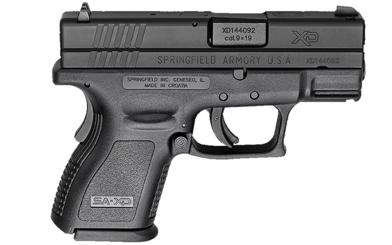 Springfield XD Defenders Series 9mm Pistol